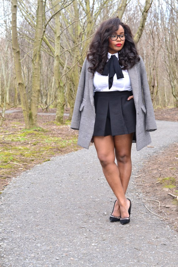 Why you should invest in a grey plaid blazer