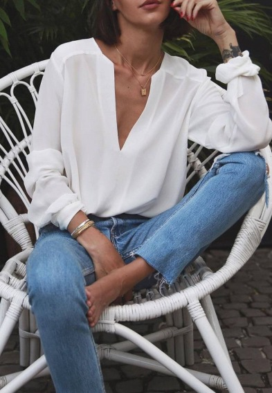 Why V necks should stay in your closet !