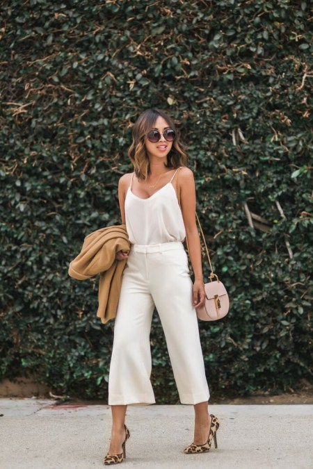 7 ways to style culottes II
