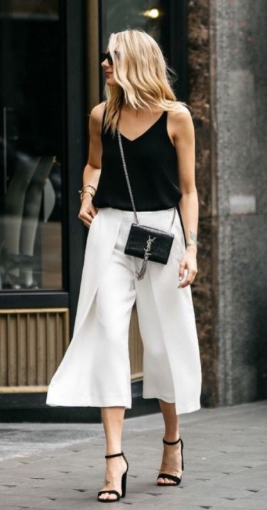 7 ways to style culottes III