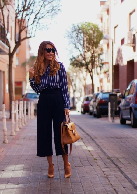 7 ways to style culottes IV