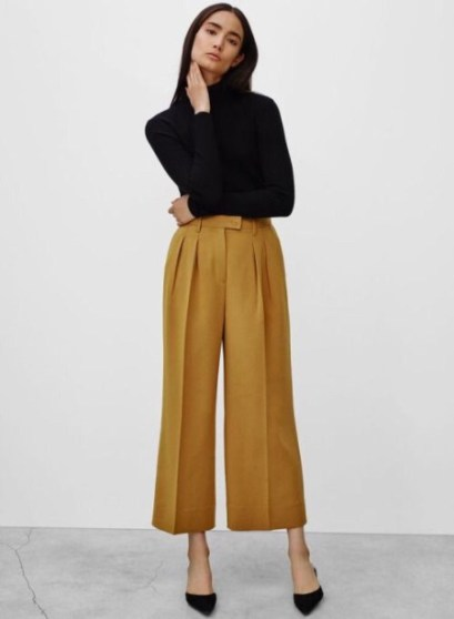 7 ways to style culottes VII