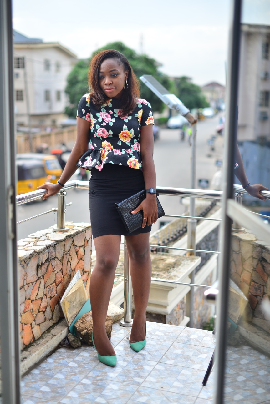 The different ways to wear a peplum top
