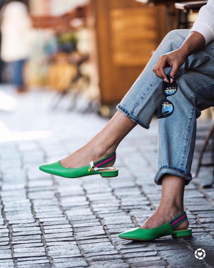 These slingbacks should be your everyday shoes